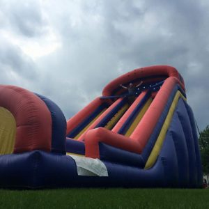 Dual giant slide The Bounce House