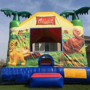 Bounce House Lion King unit