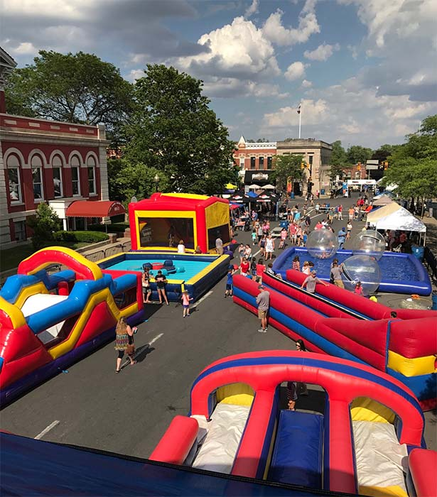 Bounce House Event in crown point