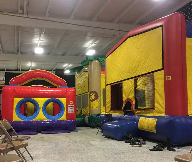 Bounce House Event at a school
